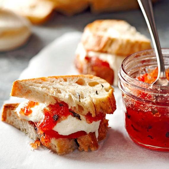 SAMPLER - Tomato Basil Jam 4oz - TheSunshineJellyCo