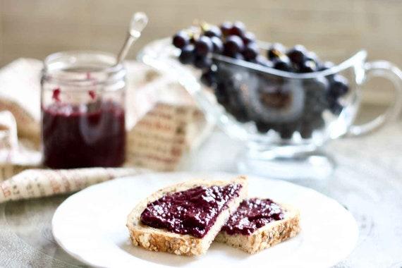 Spiced Grape Jam 8oz - TheSunshineJellyCo
