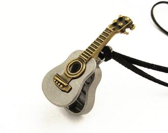 Ukulele Necklece - ukulele pendant, luthier, musical instrument