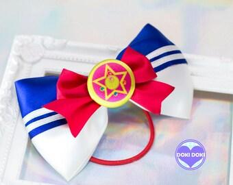 Sailor Moon Crystal Star Hair Bow