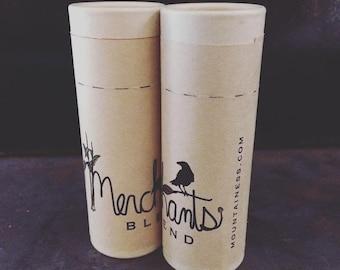 organic coconut oil deodorant / merchants blend scented / zero waste non toxic  deodorant stick / essential oil mens deodorant  tube organic