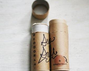 organic deodorant / Sea Salt coconut oil non-toxic  deodorant / aluminum free deodorant / eco friendly gift / christmas stocking stuffer