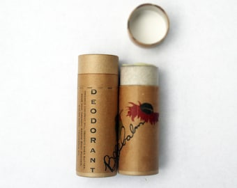 deodorant / organic deodorant / bee balm scent / all natural deodorant deoderant  / all natural deodorant stick all natural / coconut oil