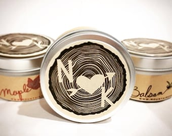 Maine Made Wedding favors / 12 Candle Favors / woodland  wedding shower favors / forest wedding / winter wedding / winter wedding favors /