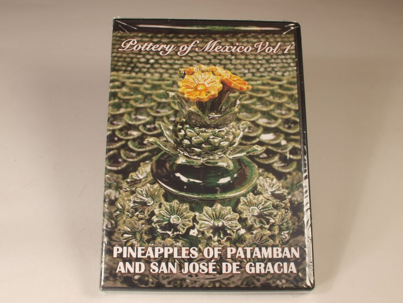 Pottery of Mexico Vol. 1 DVD: Pineapples of Patamban and San image 0
