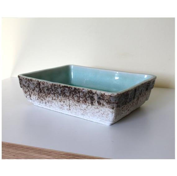 Outstanding Toyo Bonsai Tray Topaz Glazed Interior Ceramic Etsy