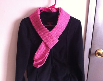 Narrow Pink Scarf