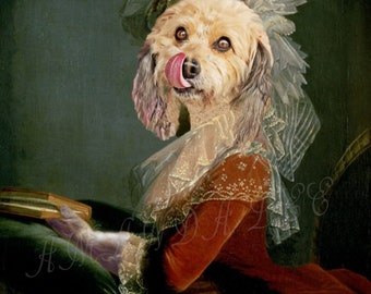 Custom Fantasy Pet Portrait