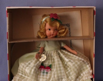 Vintage Nancy Ann Storybook Doll #159, Ring Around A Rosy, Mint in Box