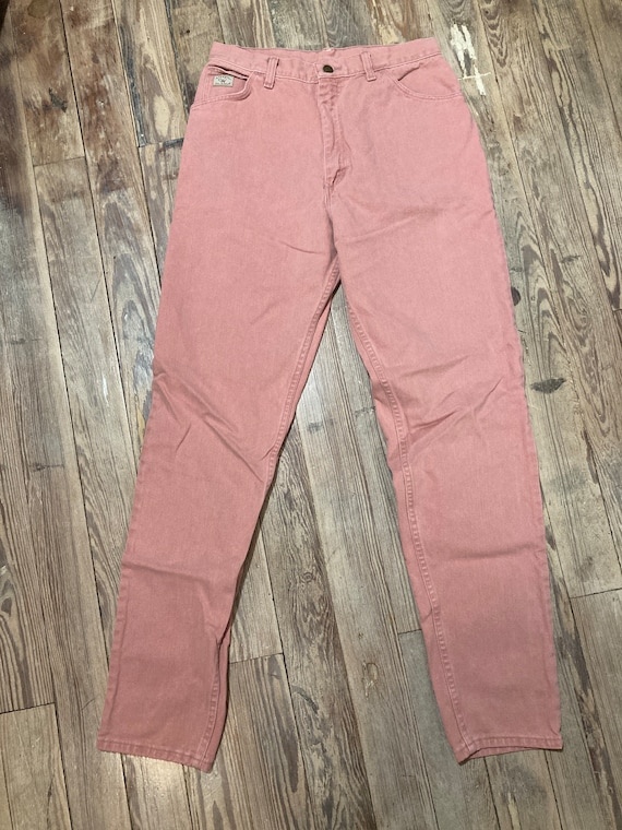 Pink wrangler jeans