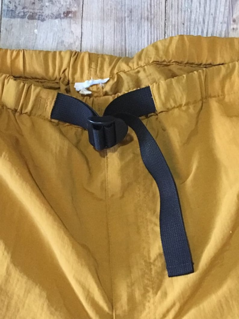Gold adventure shorts