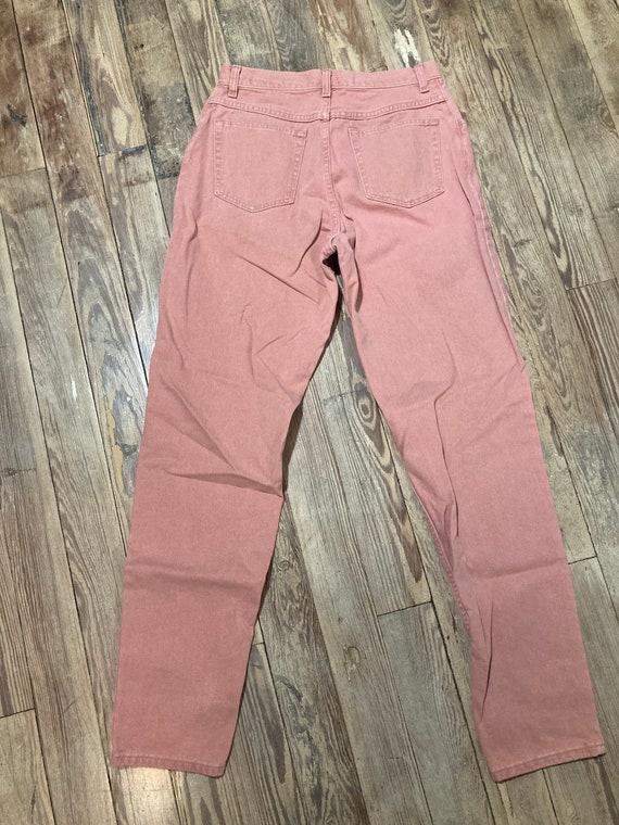 Pink wrangler jeans - image 3