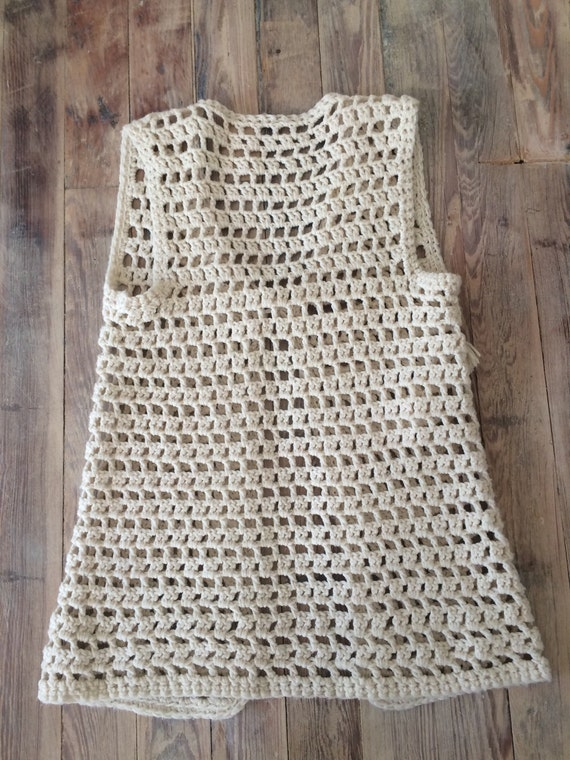 Crochet sweater vest - image 3