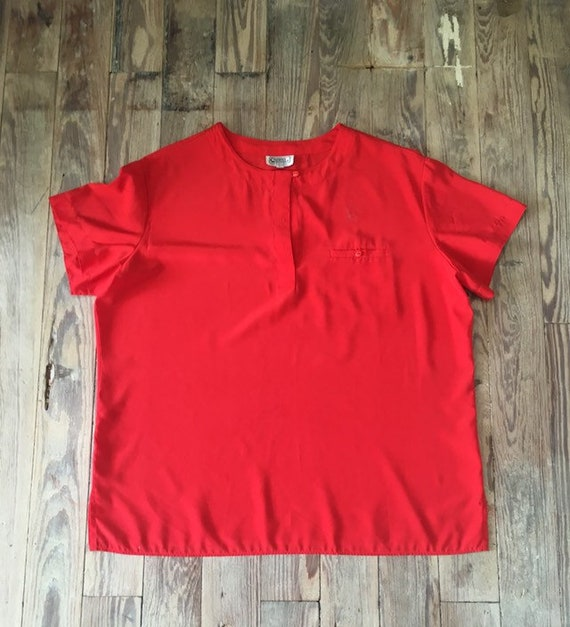 Campus casuals silky blouse