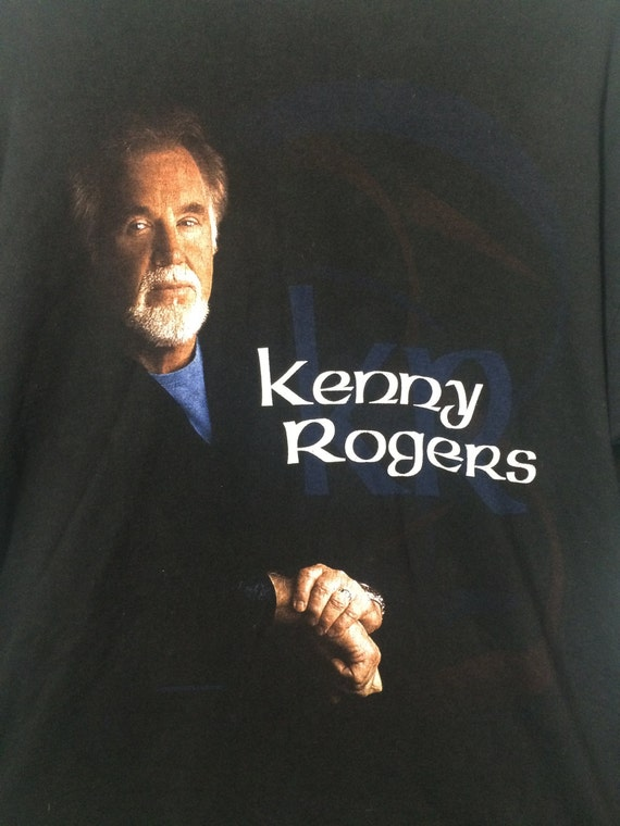 Vintage Kenny Rogers T shirt - image 2