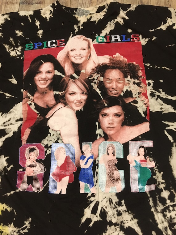 Bleached out Spice Girl Rap tee