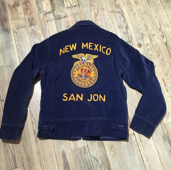 New Mexico cordoroy jacket