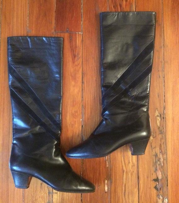 Galo calf high boots