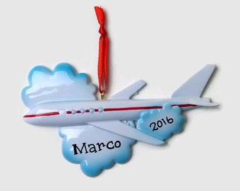 new arrival 62b59 5fdc6 Airplane ornament | Etsy