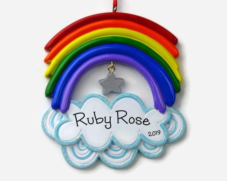 ae1b74d3c Rainbow Ornament // Rainbow Bridge // LGBTQ Pride // Whimsical | Etsy