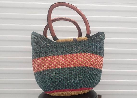 Bolga-Basket/U Shopper Basket/African Basket