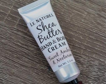 Shea Butter Hand Cream   Extra Moisturizer   Winter Lotion   Stocking Stuffer   Ready to Ship
