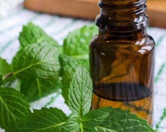 Peppermint Essential Oil- Uncut 100% Certified Pure 10ml (1/3 oz)