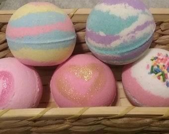 Bath Bomb- Bath Fizzy - Multi Scents- You Choose!