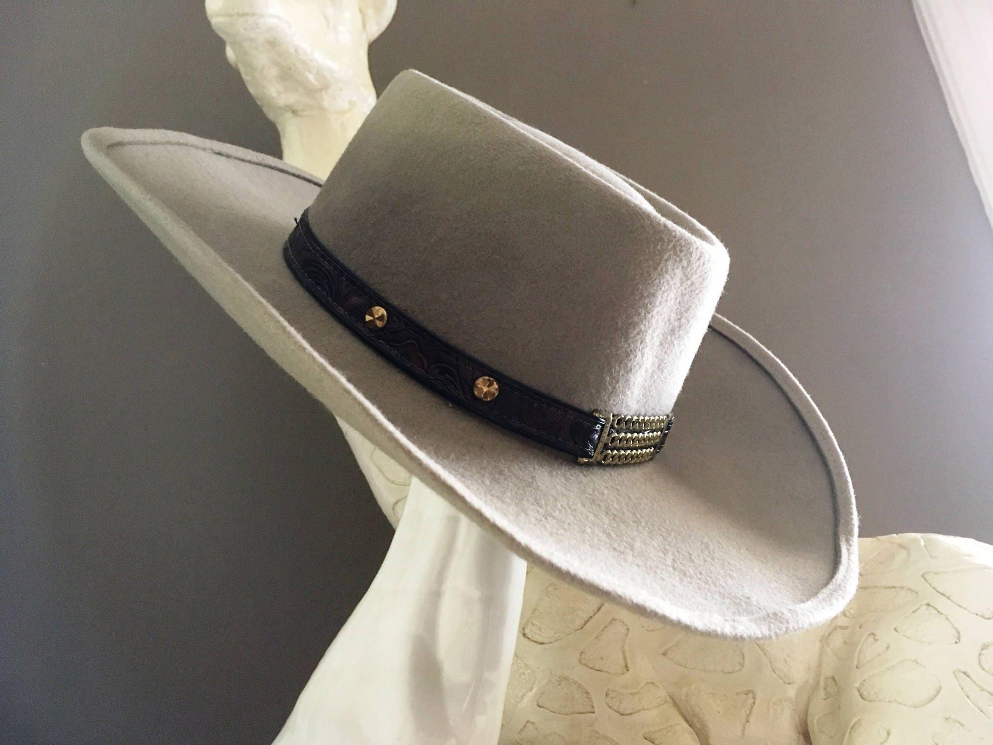 VINTAGE COWBOY HAT Eddy Bros. Cowboy Hat Eddy Bros. Hat  9dbd714388d