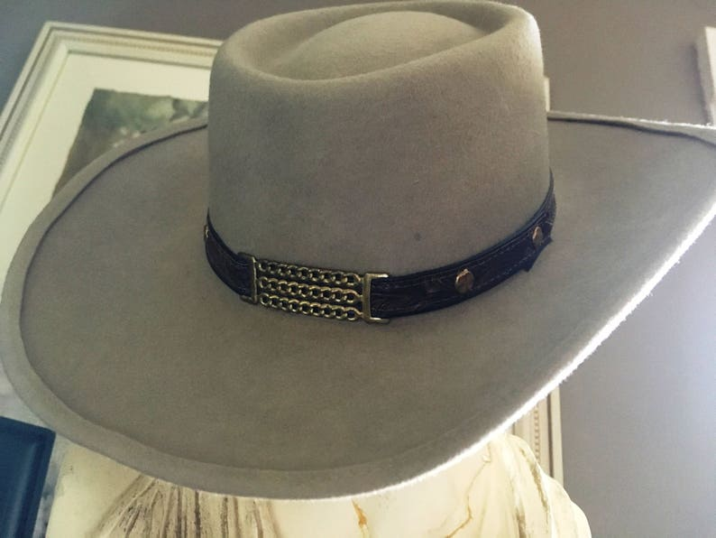 bee04368591b VINTAGE COWBOY HAT Eddy Bros. Cowboy Hat Eddy Bros. Hat | Etsy