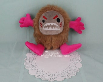Cup Cake Monster Crafts