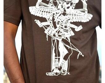 Les amateurs d'amérindiennes [Mens T-Shirt] - imprimé en sérigraphie