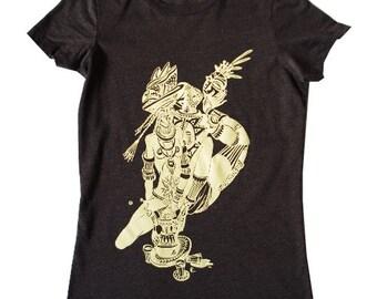 Tribal africain amateurs [T-Shirt femme] - imprimé en sérigraphie
