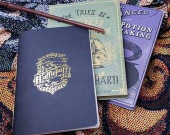 Hogwarts House Handmade Pocket Sketchbook