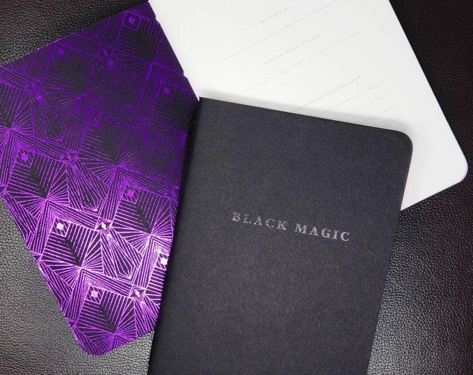 Featured listing image: Black Magic Pocket Sketchbook