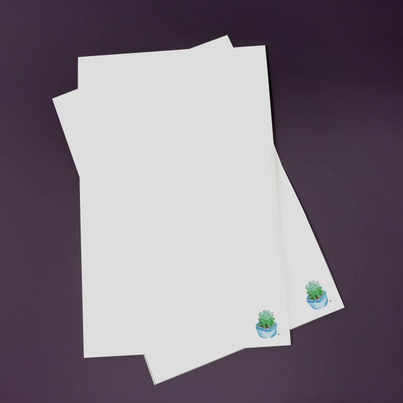 Cactus Succulent Stationery Set