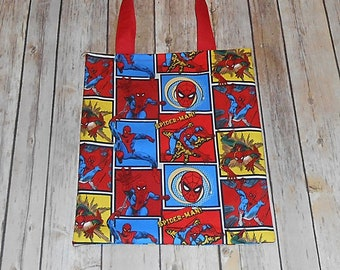 Kid s Toddler Tote Bag- Spiderman Inspired c65acc4301f0