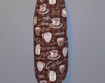 Grocery Bag Holder - Plastic Bag Holder - Bag Dispenser - Coffee Time