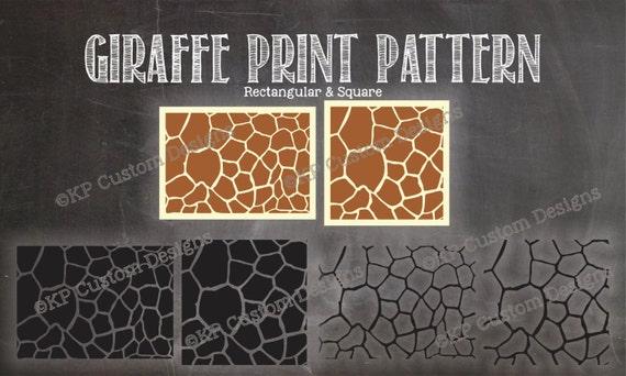 Full Safari Animal Print Patterns Package Cut File Svg Etsy