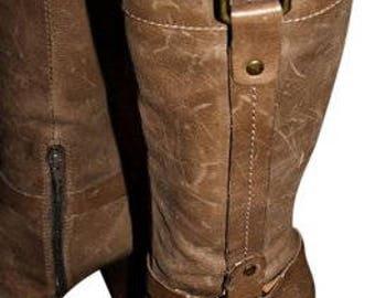 9d226c776036 Nine West Vintage Leather 90 s Knee High Boots