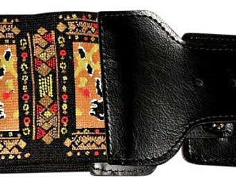 90's Vintage India Print Glam Elastic Belt, Women's SM to MED, Brand New/Unworn