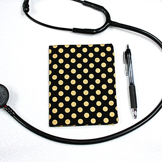 Dr Swans Nurse Canvas Rx Sleeve Doctor/'s Prescription Pad Cover MD RN Protector Gift Physician. Holder