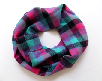 4a027d3bf Girls plaid scarves