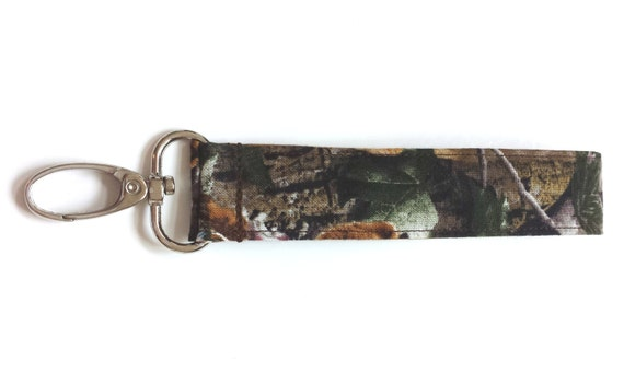 Natural Camouflage Fabric Wristlet Camo Fashion Keychain or  7ef51e047