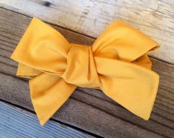 Mustard baby headwrap ade4cab7a19