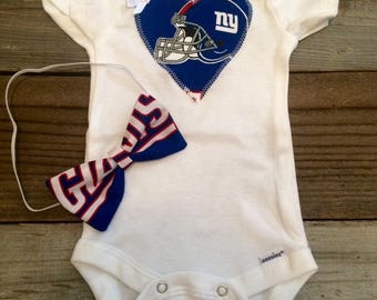 New York giants onesie a5d8e02a3