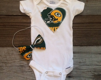 Packers Baby Etsy