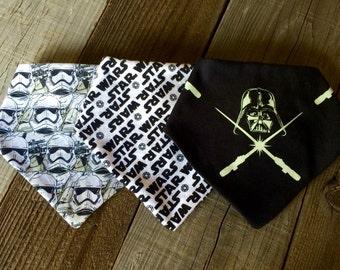 Star Wars baby bandana bib set, Star Wars bibs, Star Wars bib set