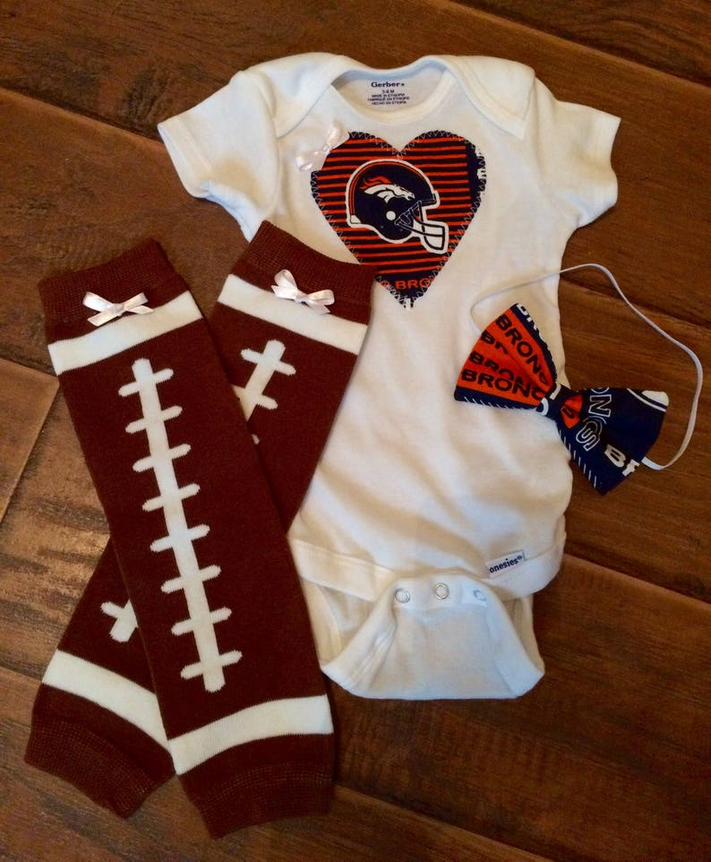 28d2d38c Denver Broncos baby girl bodysuit, broncos baby Onesie, broncos Onesie,  broncos baby girl outfit