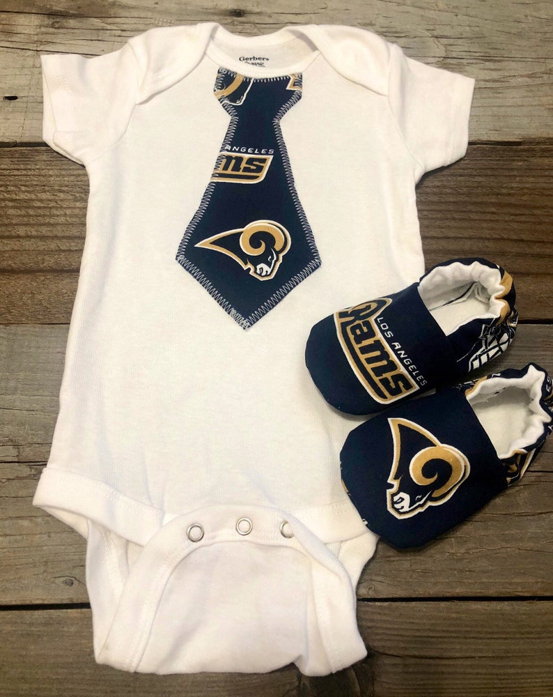 fc82398f77c Los Angeles rams baby boy Onesie la rams baby bodysuit